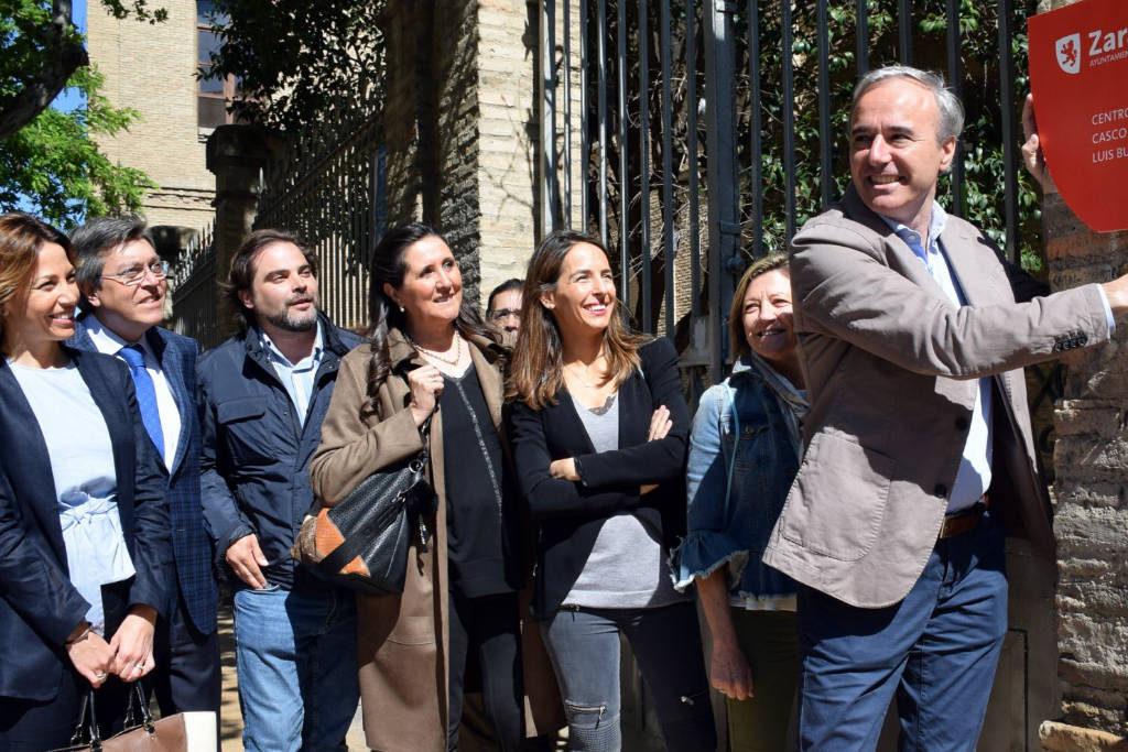 La vecinal Lanuza Casco Viejo defiende el Luis Buñuel frente a la utilización electoralista del PP