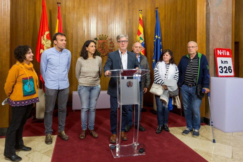 El Ayuntamiento de Zaragoza asume la titularidad del tramo urbano completo de la avenida de Cataluña