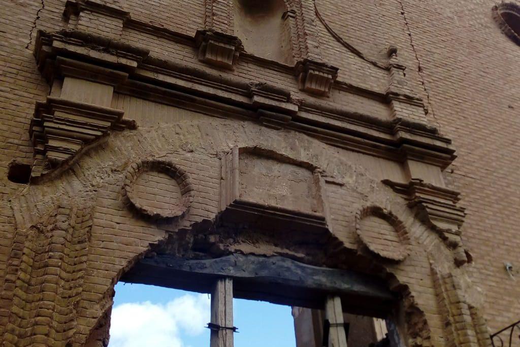 """El Convento de San Rafael de Belchite se encuentra en una situación de """"ruina inminente"""""""