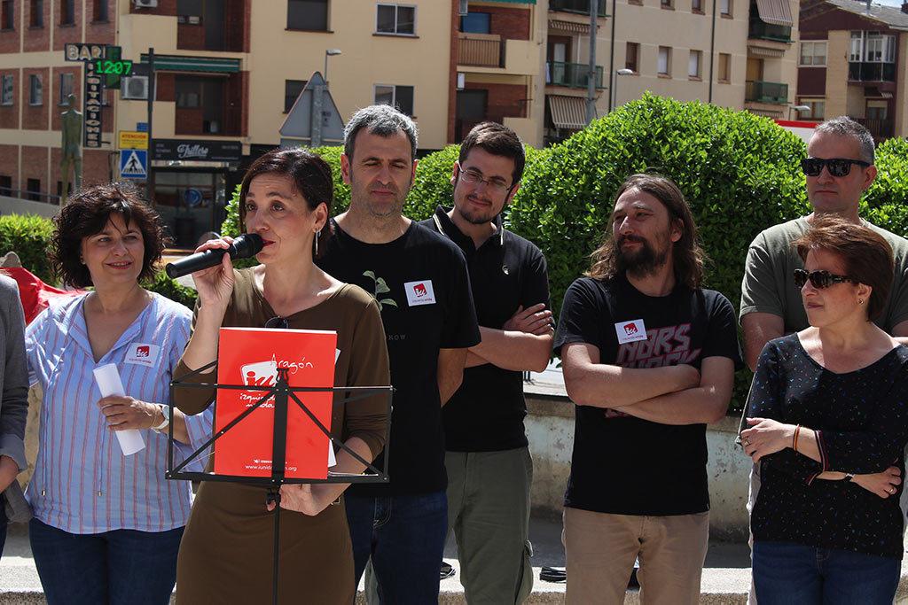 """María Milián (IU-Ganar): """"Proponemos un Alcañiz democrático repartiendo el poder en manos de la gente"""""""