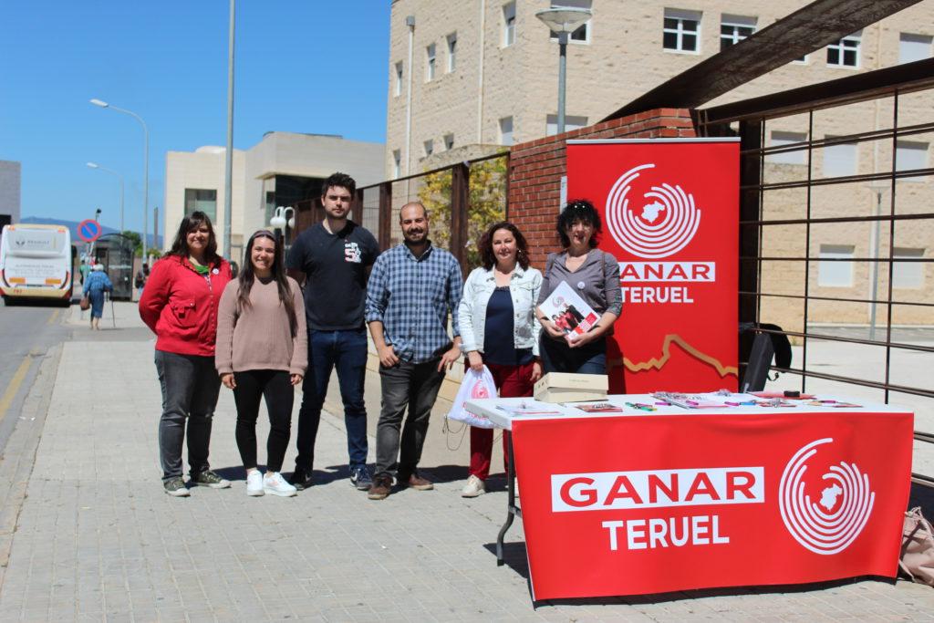 """Ganar Teruel apuesta por un """"transporte público sostenible y de calidad"""""""