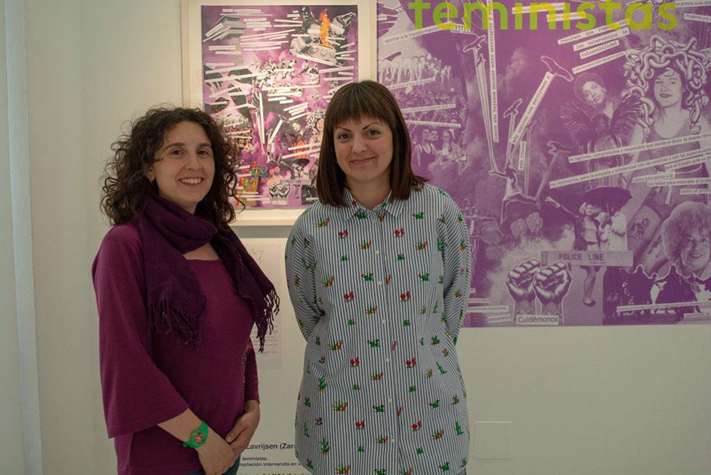 Tres cuadros, una escultura y un medallón, estas son todas las obras expuestas en Zaragoza firmadas por mujeres