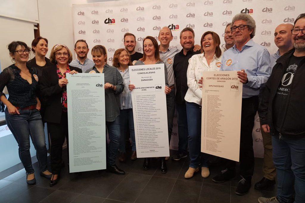 """Soro considera que el voto a CHA es «imprescindible» para que Aragón cuente con «un gobierno aragonesista y de izquierdas"""""""