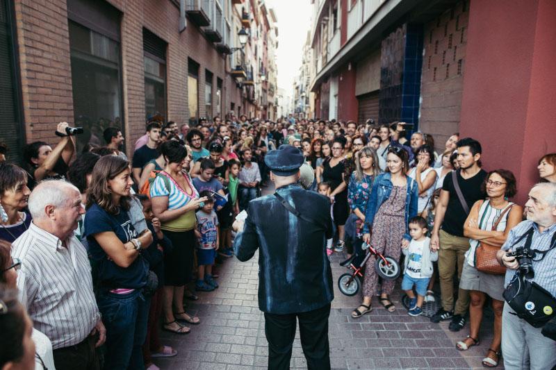 Reestreno de 'La Hierba siempre Volverá' un espectáculo itinerante por las calles del Gancho