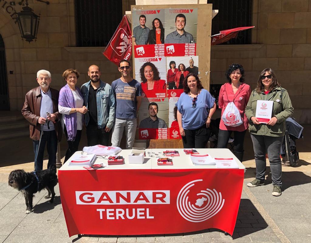 """Ganar considera """"imprescindible"""" que la ciudad de Teruel sea elemento de dinamización del sur de Aragón"""