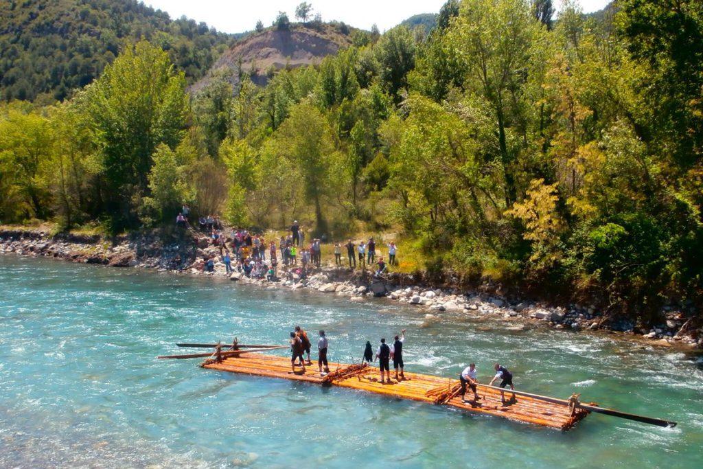 A Espunya – L'Aínsa: las nabatas vuelven a surcar el río Cinca