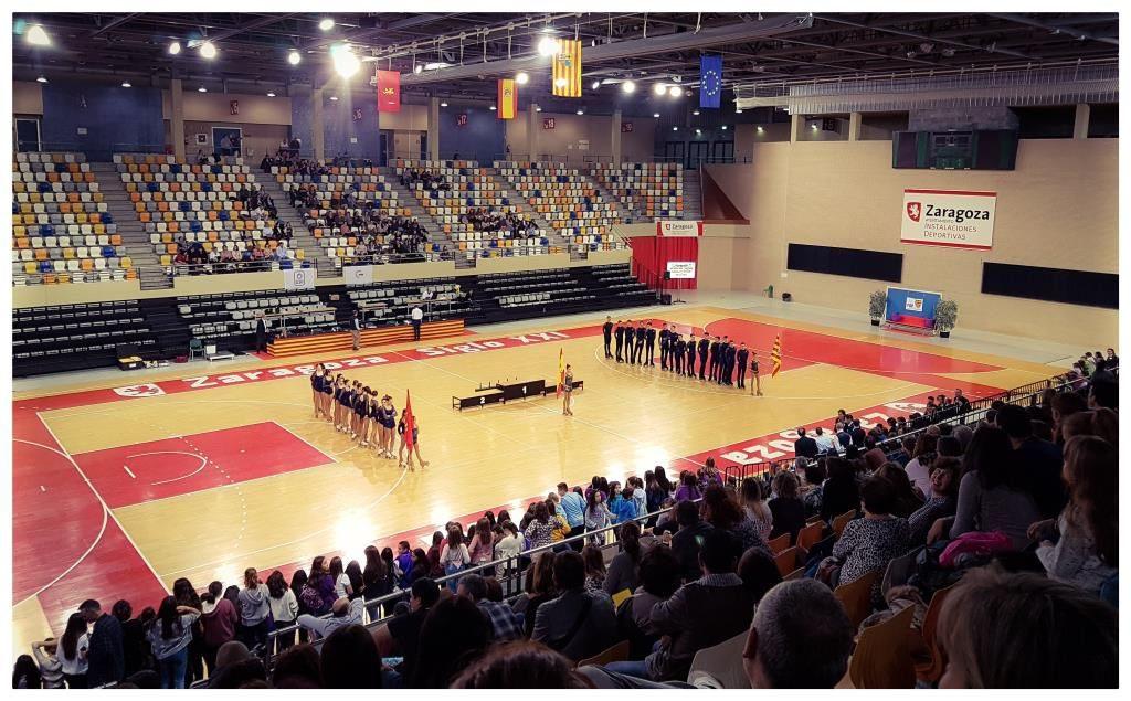 El Pabellón municipal 'Fernando Escartín' acoge este fin de semana el XXXIX Campeonato de Aragón de Patinaje Artístico