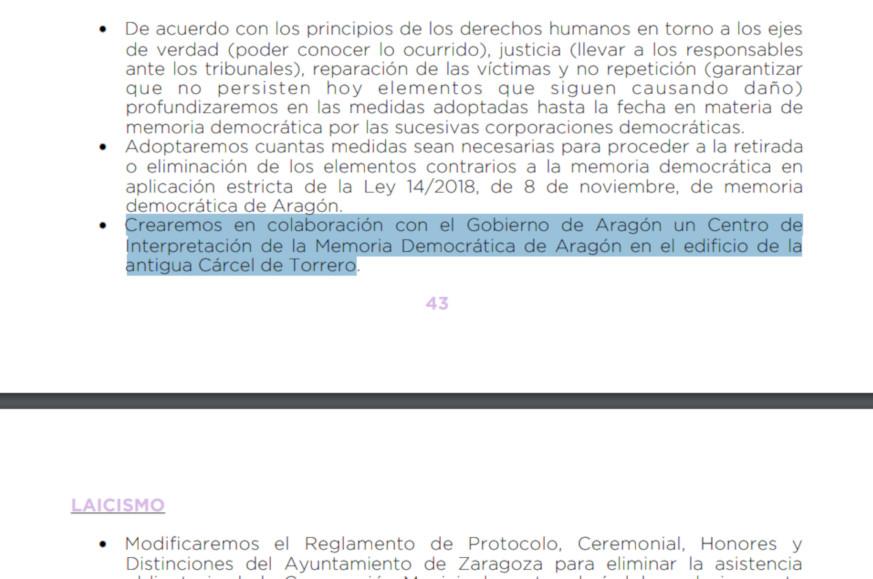 Podemos Zaragoza a favor del desalojo del CSO Kike Mur
