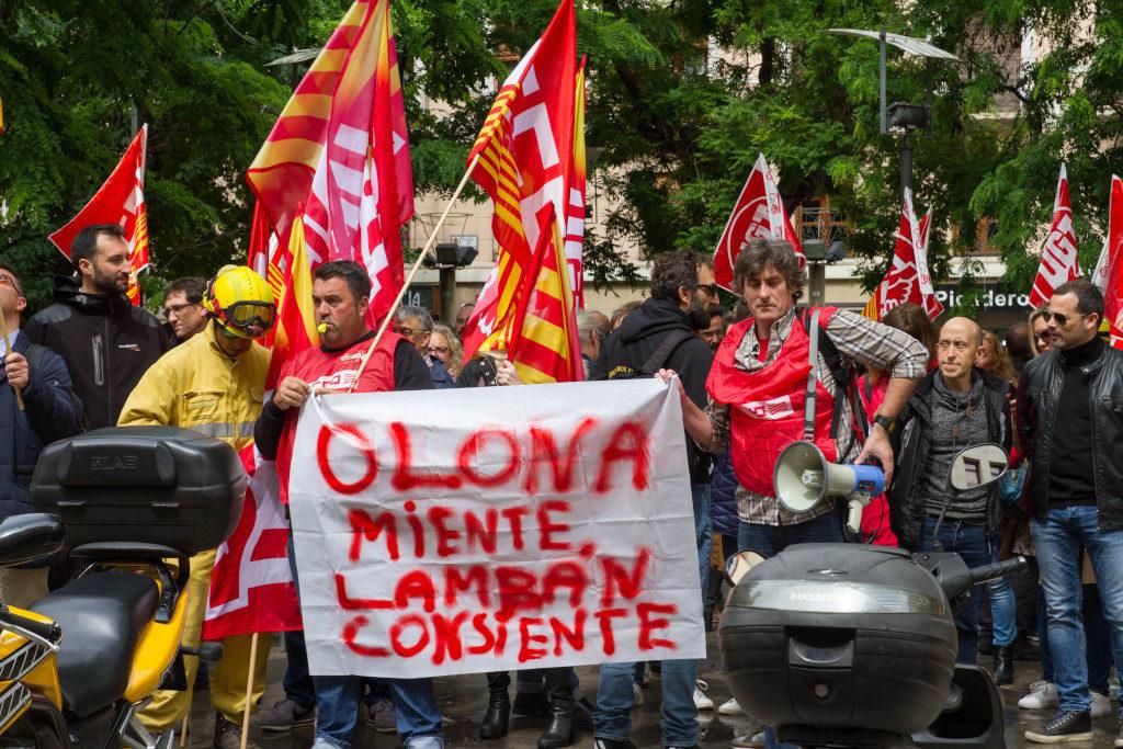 Las trabajadoras y trabajadores de SARGA secundan mayoritariamente la huelga