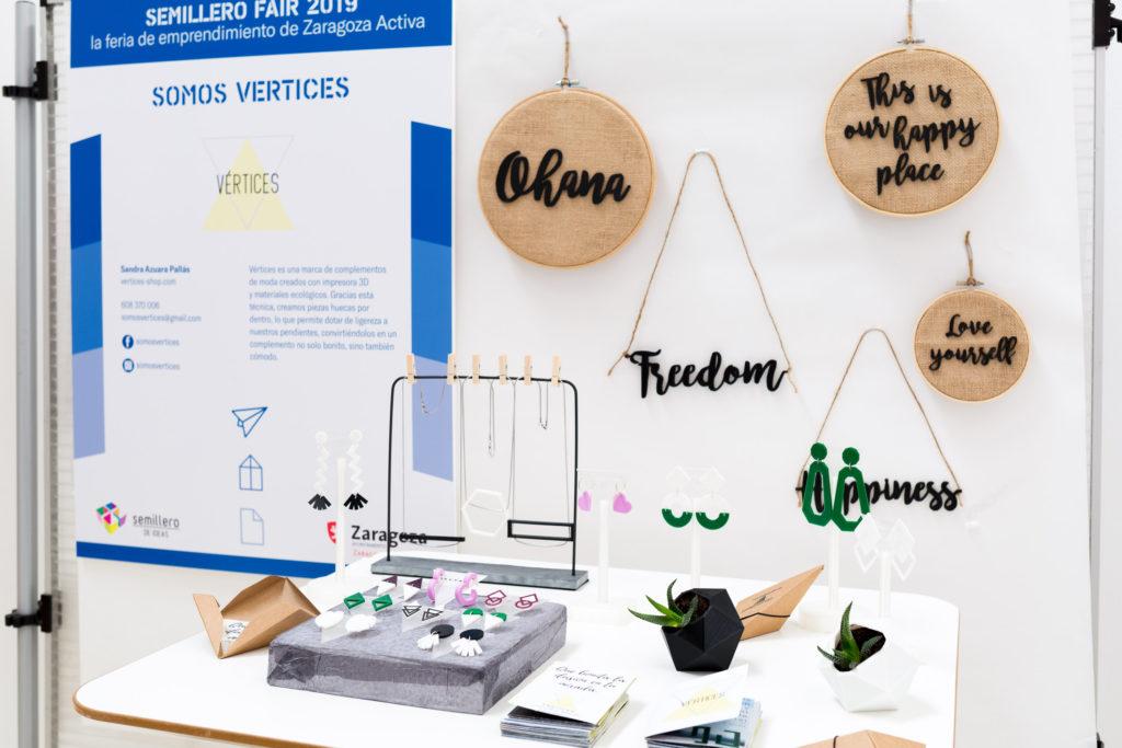 El proyecto de emprendimiento Vértices, ganador del Semillero de Ideas 2019 de Zaragoza Activa