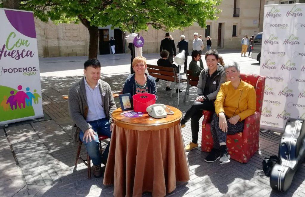 Con Huesca propone medidas para facilitar el acceso a la vivienda de alquiler