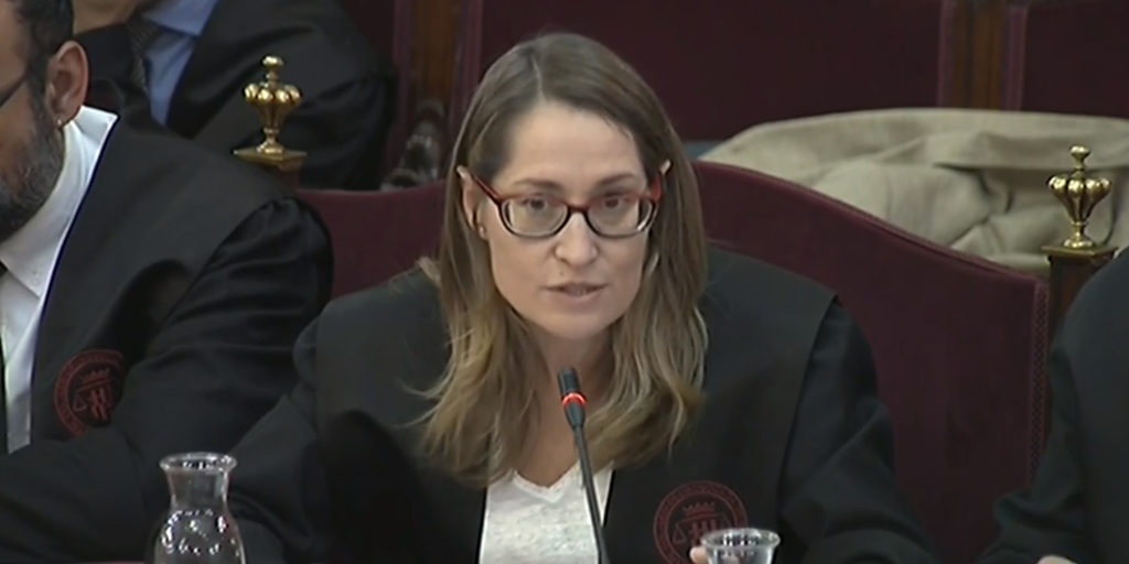 Marina Roig, abogada de Cuixart: «Las acusaciones no entienden el derecho fundamental de reunión»