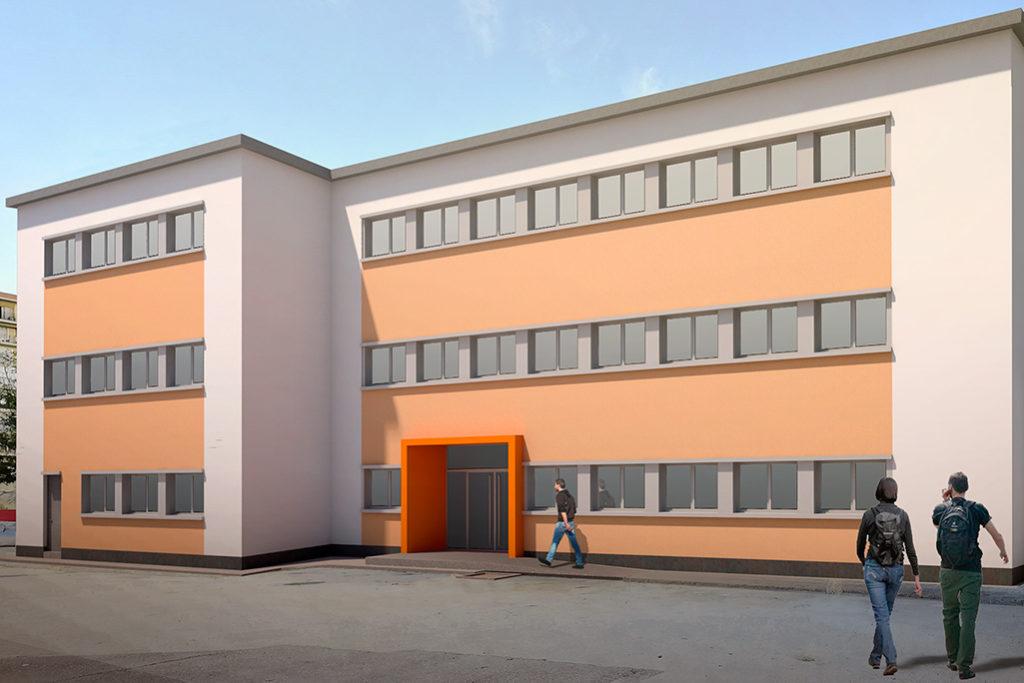 Luz verde a la reconversión del antiguo Colegio Público José Lorente en un centro sociolaboral