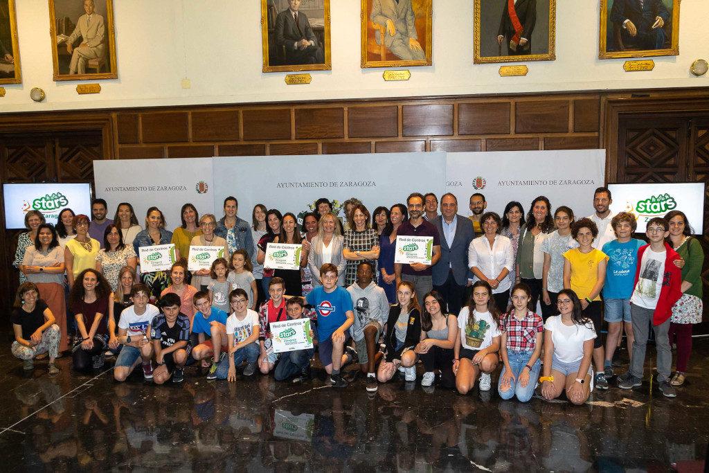 Seis centros educativos de Zaragoza se suman a la red STARS