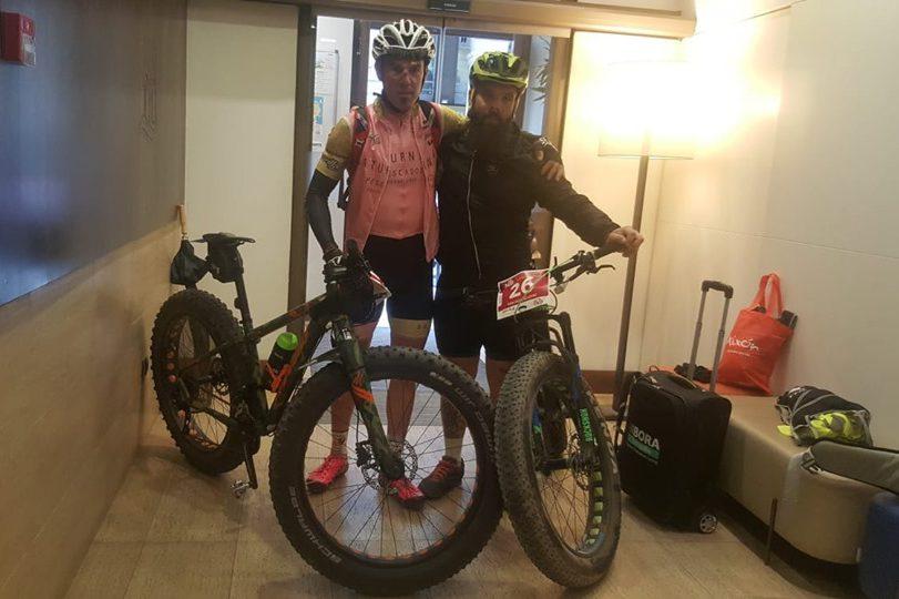 Ruta en bici del norte al sur del Estado para recaudar fondos para ADAMPI-Aragón