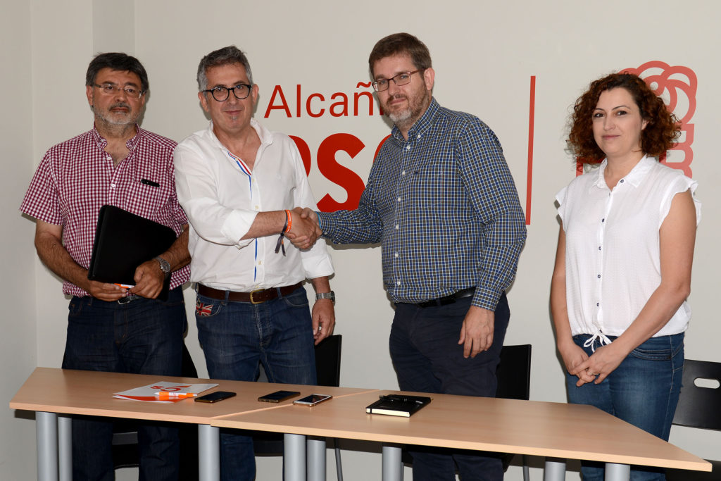 Ignacio Urquizu (PSOE) se convierte en el alcalde de Alcanyiz con el apoyo de Ciudadanos e IU