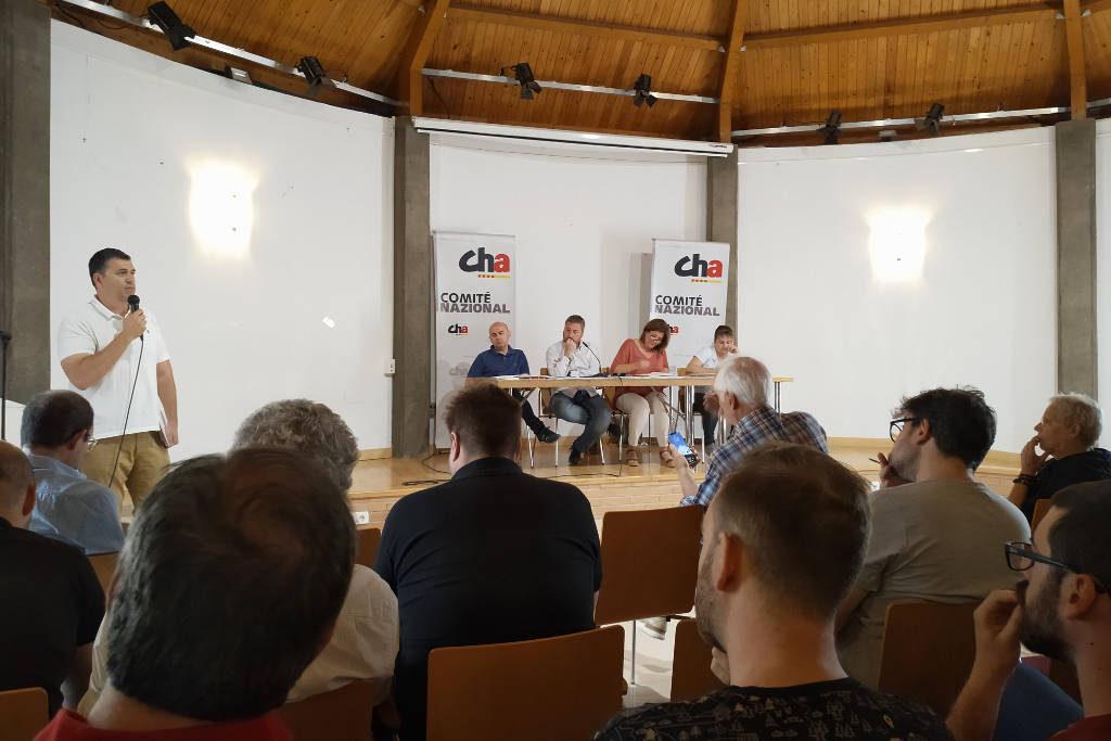 CHA ratifica el 'sí' a Lambán y formará parte del Gobierno de Aragón