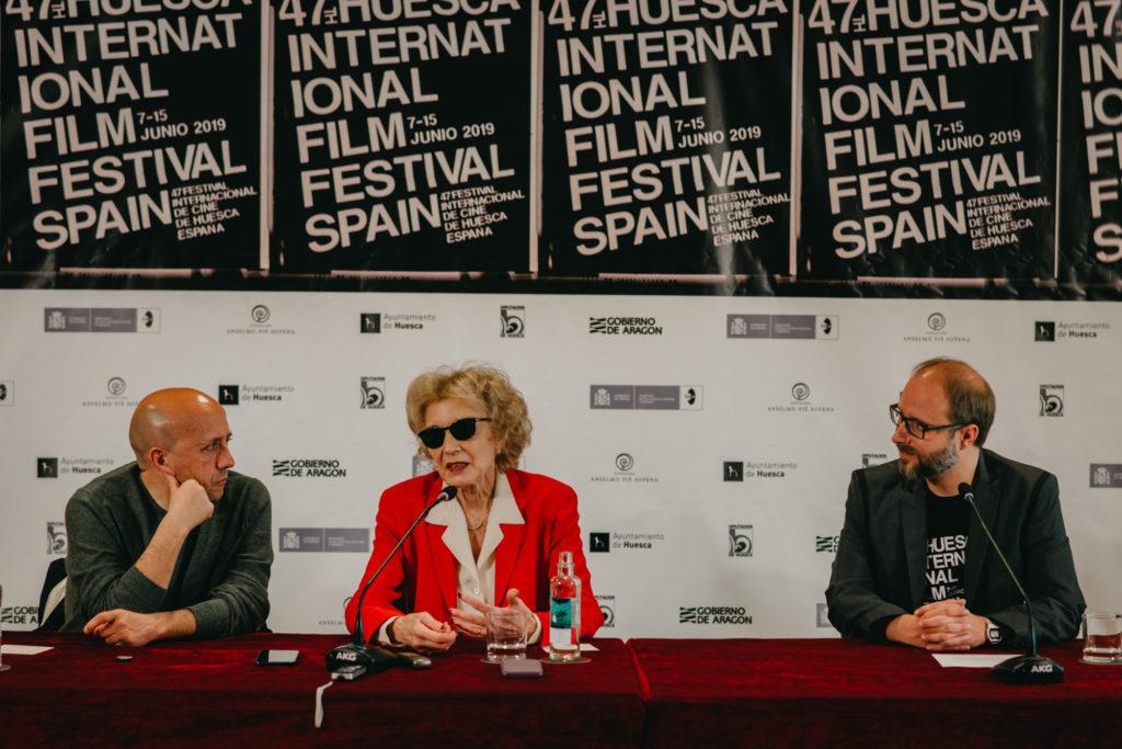 La actriz Marisa Paredes destaca la labor de las productoras que han permitido «mirar a las mujeres de igual a igual»