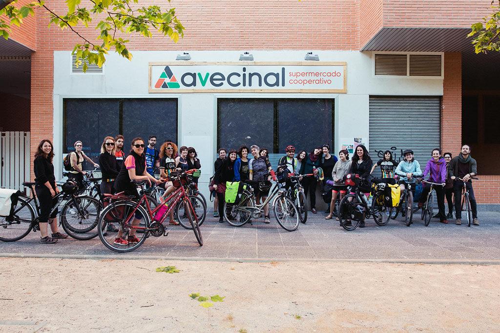 Biela y Tierra empieza a pedalear desde Zaragoza para visibilizar un mundo rural vivo