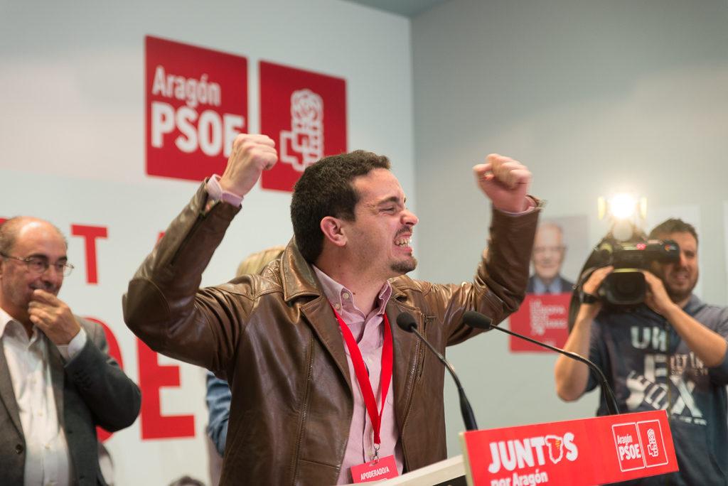 """PSOE dice que Cs se ha """"autodescartado"""" de la negociación para el Gobierno de Aragón y dialogará con la izquierda"""