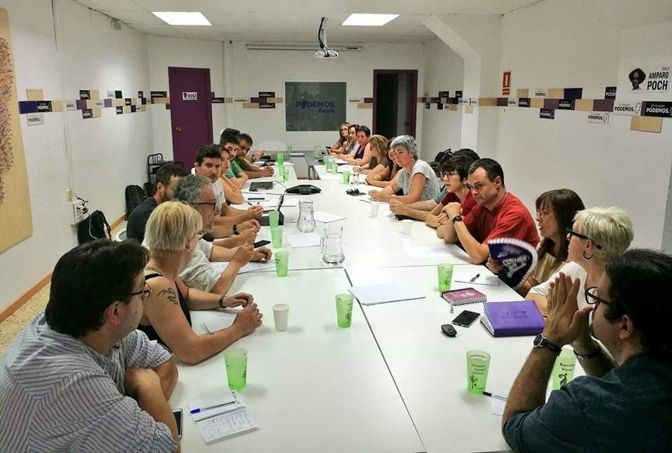 """Podemos Aragón abierto a entrar en un gobierno con PSOE-PAR en el que exigirá """"cambios notables"""""""