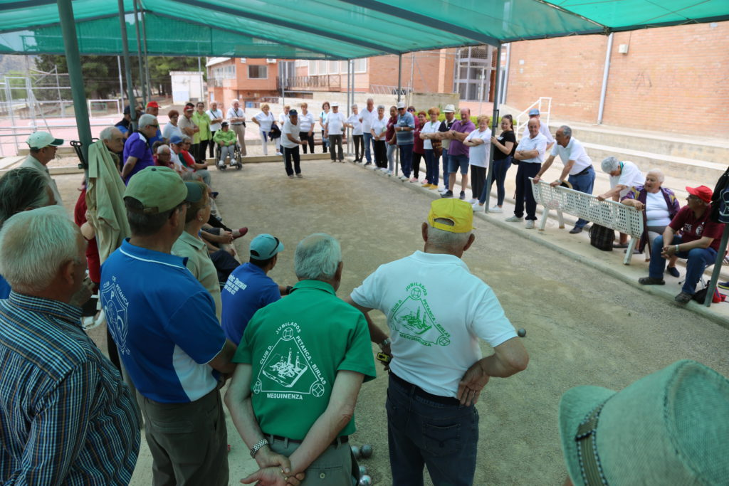 Una tripleta de Ascó se impone en el XXIII Encuentro de Petanca de Mequinensa