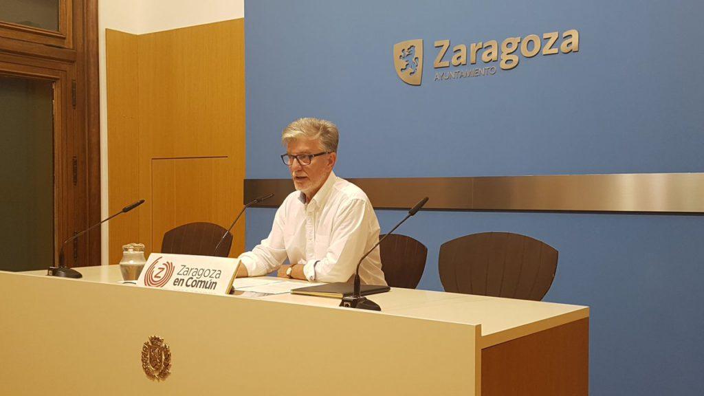 """Zaragoza en Común advierte que el gobierno de PP-Ciudadanos va a ser """"débil, inestable, lleno de contradicciones y sin proyecto de ciudad"""""""