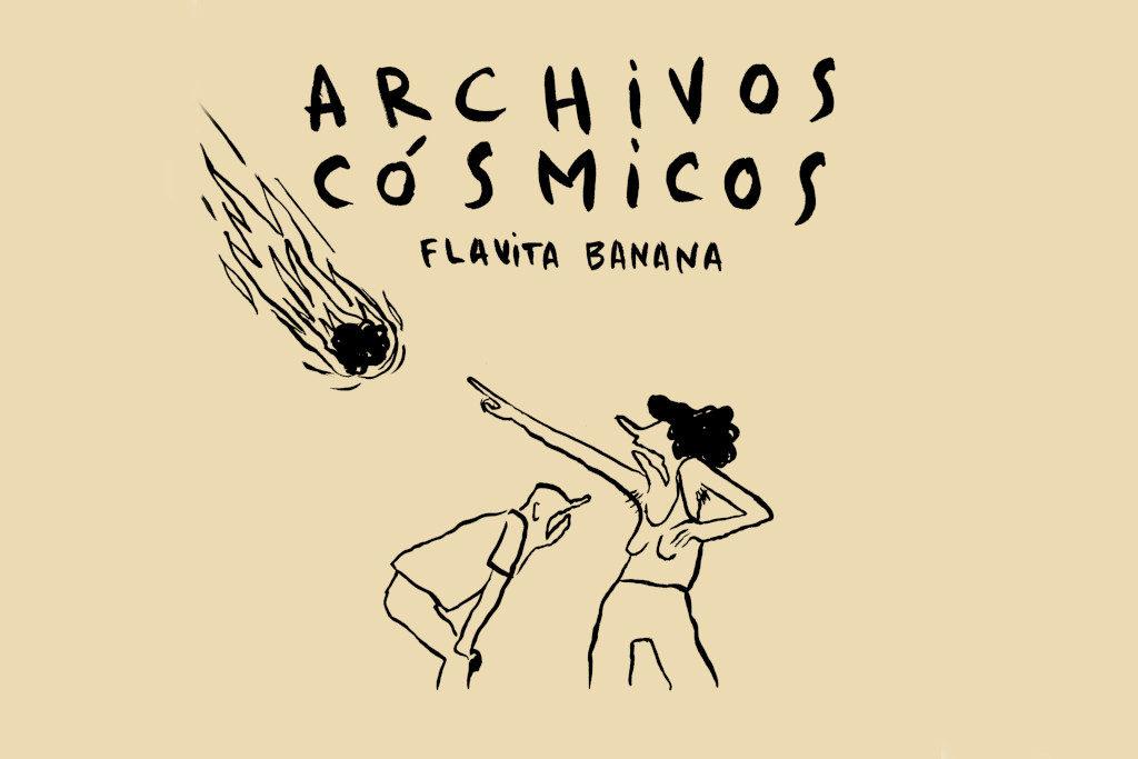 Flavita Banana, Premio Internacional de Humor, presenta en Zaragoza 'Archivos cósmicos'