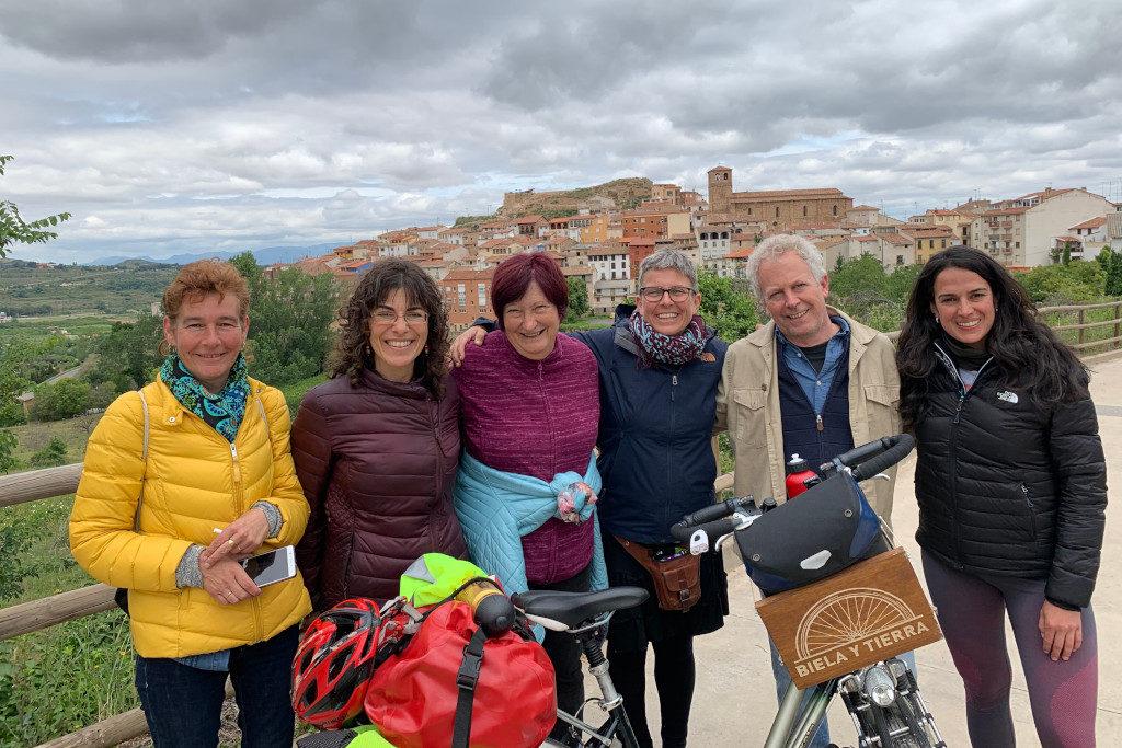 En bicicleta desde Tudela a Nalda, un sueño comunitario