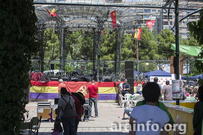 IU participa en la fiesta del Partido Comunista de Aragón