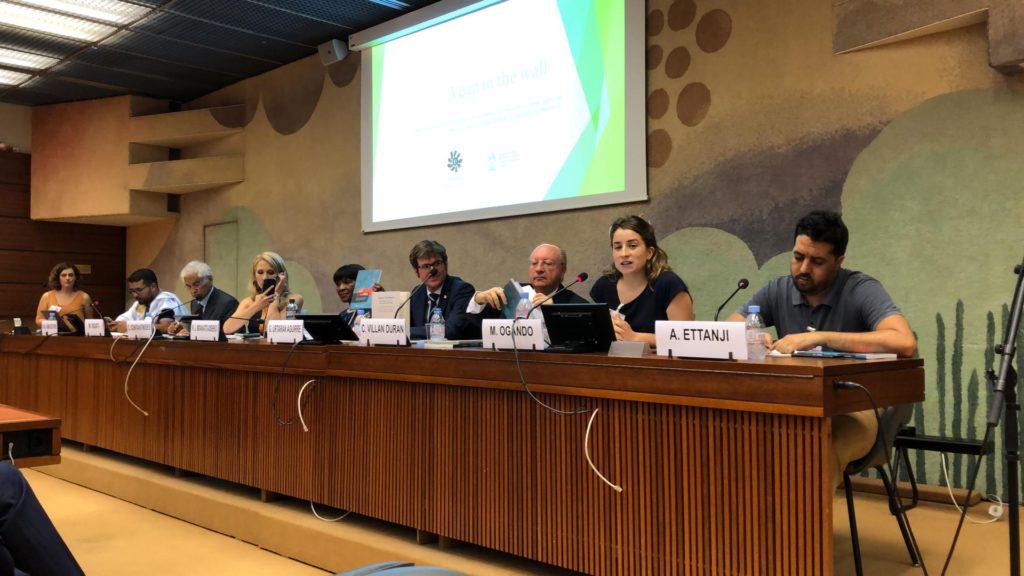 Activistas saharauis denuncian ante la ONU las vulneraciones de los derechos humanos con un informe y un corto