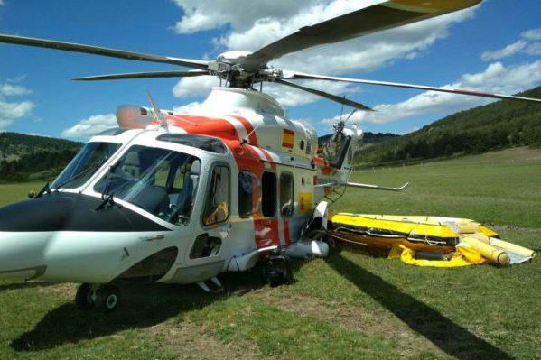 La plantilla de Babcock, propietaria del helicóptero que cayó en Albarrazín, ya había denunciado las condiciones laborales
