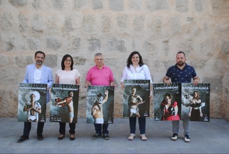 Aumentan las sedes y la programación de los Festivales de los Castillos de Aragón