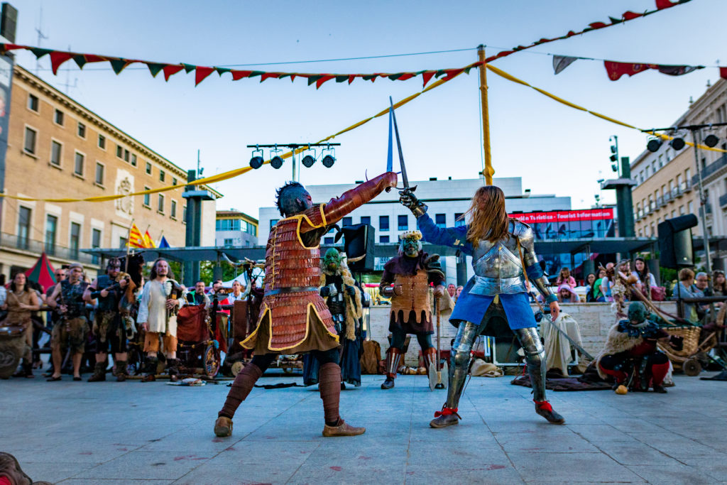 El Mercado Medieval de las Tres Culturas ofrece más de 200 actividades para disfrutar el próximo fin de semana en Zaragoza