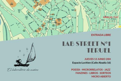 Los LAB Street llegan a Teruel para convertir la ciudad en la capital aragonesa de la poesía