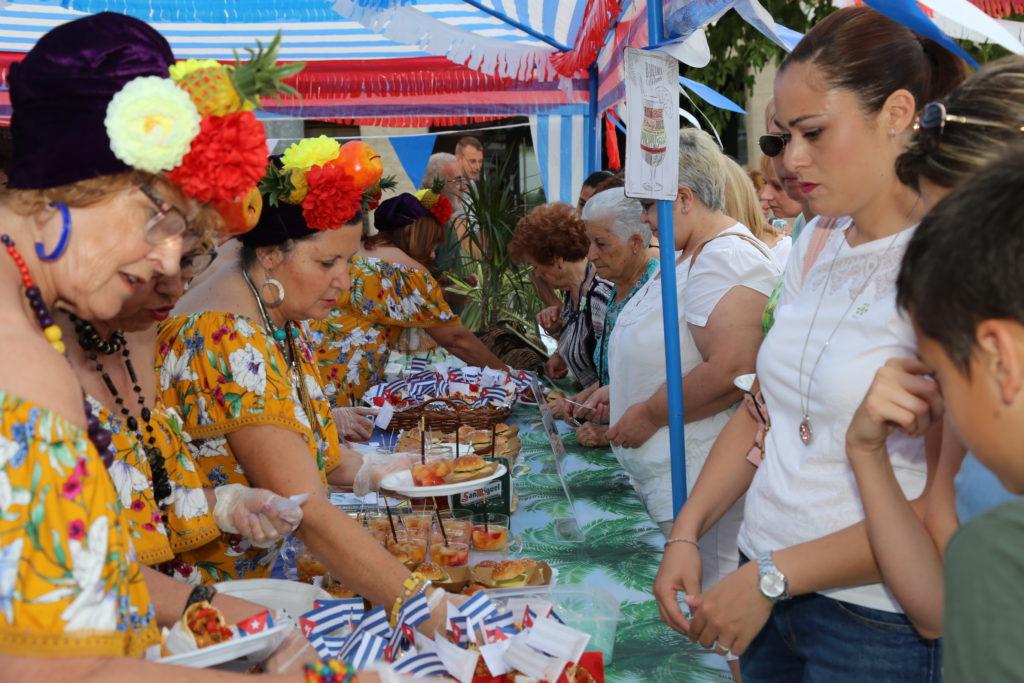 Mequinensa da la bienvenida al verano con 'Sabor cubano'