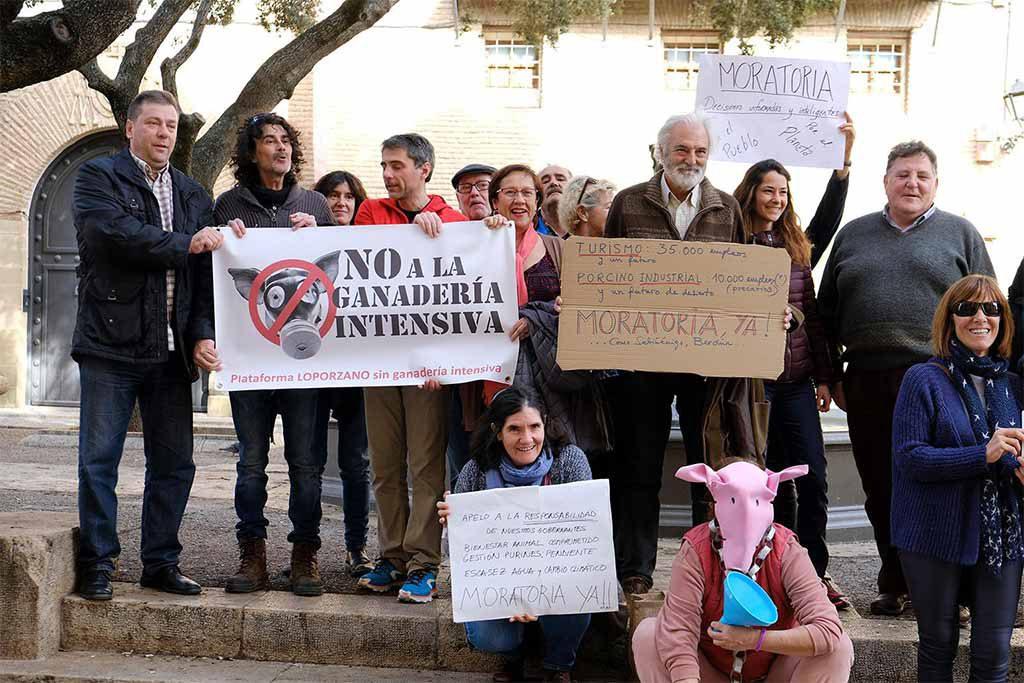 Loporzano SIN Ganadería Intensiva aplaude la moratoria en su municipio