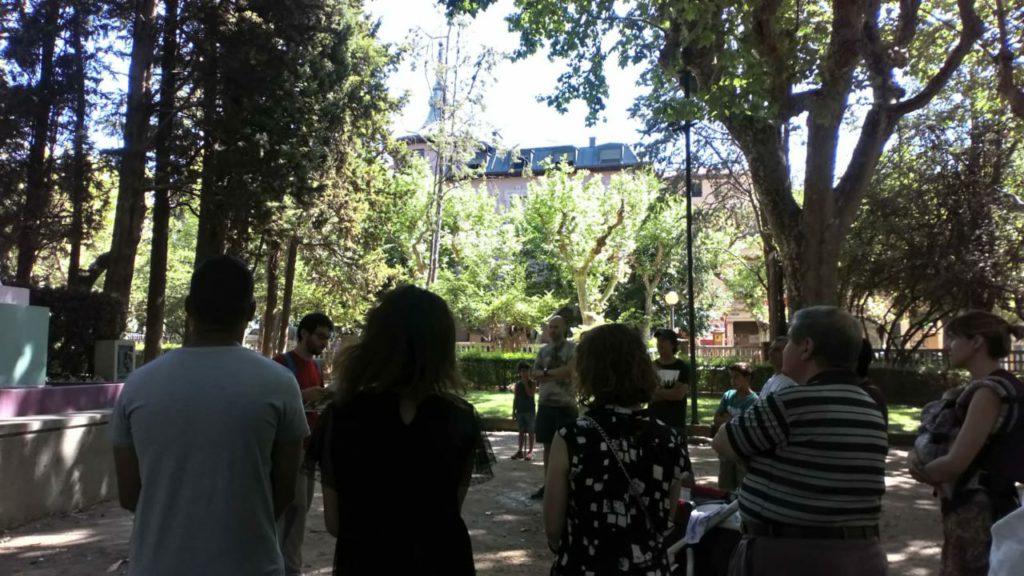 Continúan los 'Paseos Guiados' a los parques de Uesca