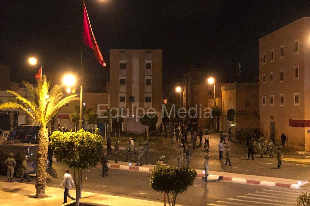 Una asesinada, dos heridos y decenas de detenciones arbitrarias de saharauis durante la celebración de la Copa de África en El-Aaiún