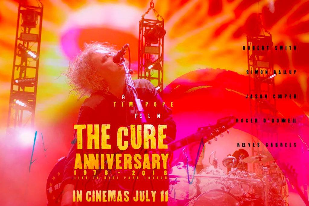 Estreno mundial de 'The Cure Anniversary 1978-2018' en los cines de Zaragoza