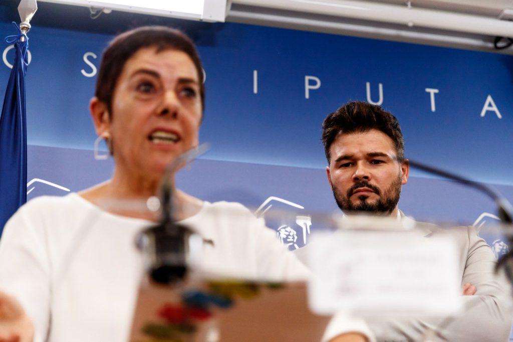 ERC y EH Bildu:«Llamar a la gente a votar el 10 de noviembre es una irresponsabilidad»