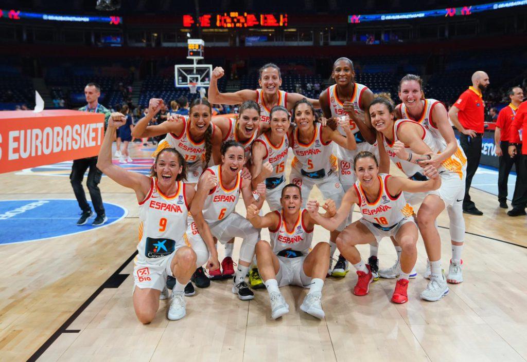 La selección española de baloncesto femenino gana su cuarto oro continental