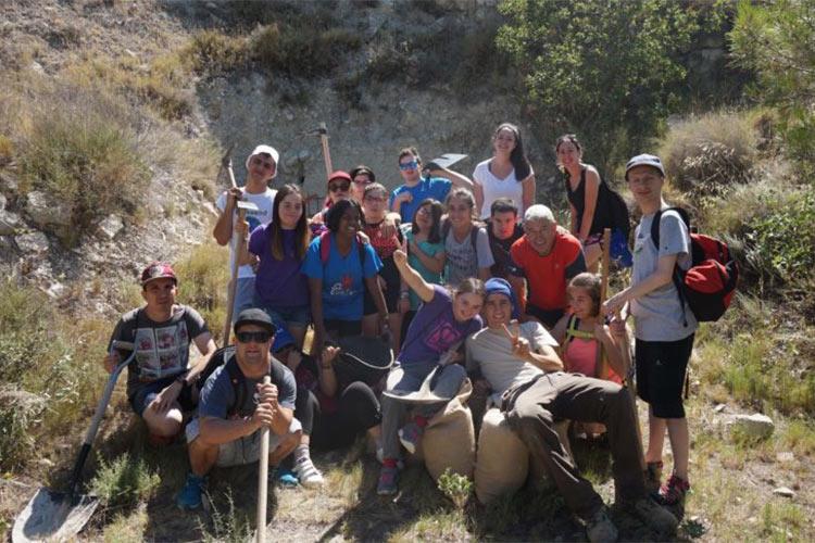 Recuperando trincheras, un campo de trabajo de jóvenes con diversidad intelectual