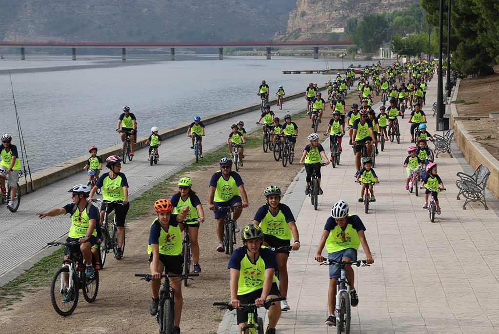 Abierto el plazo de inscripción para participar en el XXIII Día de la Bicicleta de Mequinensa