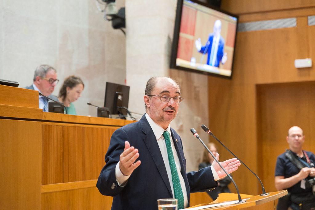 Lambán encabezará un gobierno mosaico reflejo de la plural sociedad aragonesa