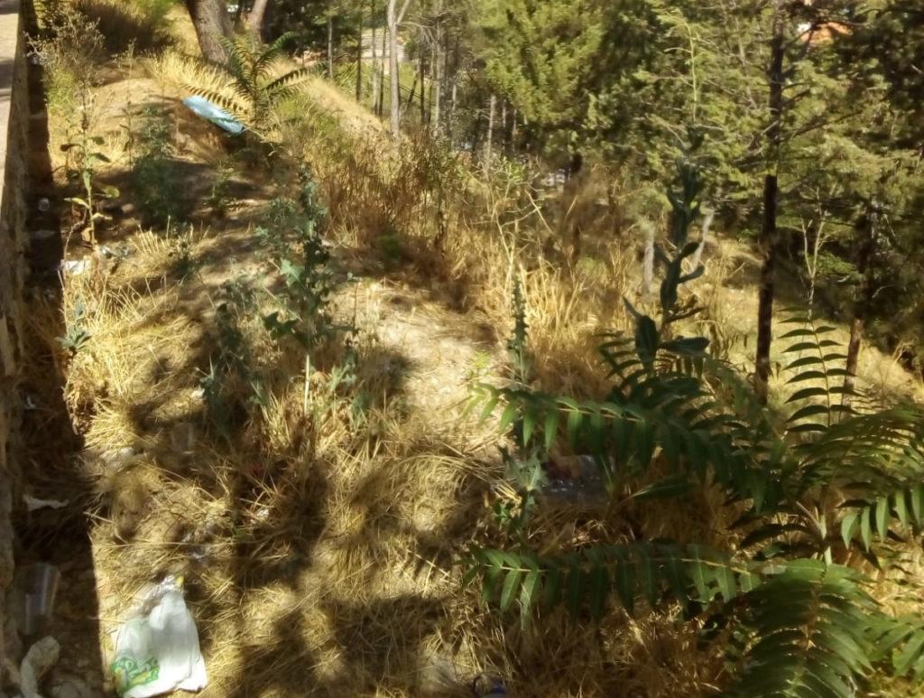 Las laderas de Teruel continúan llenas de suciedad quince días después de la Vaquilla