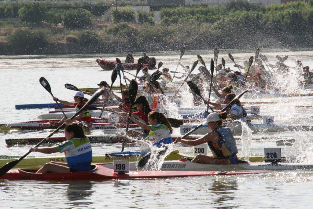 El Club Escuela Piragüismo Aranjuez triunfa en Mequinensa