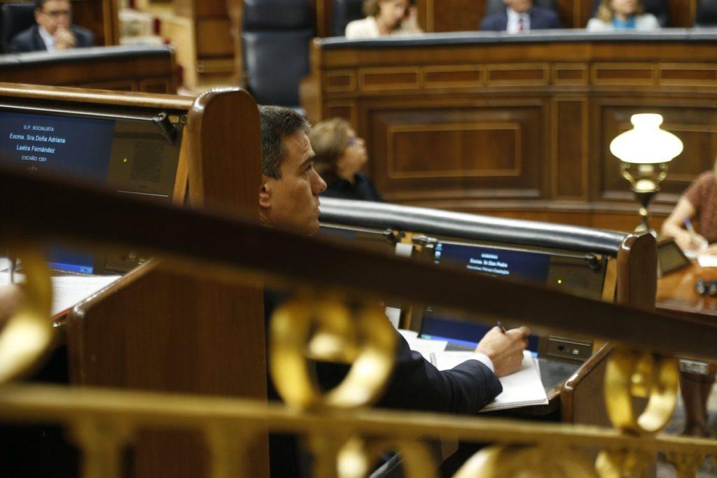 Pedro Sánchez fracasa en la primera votación: 124 votos a favor, 170 en contra y 52 abstenciones