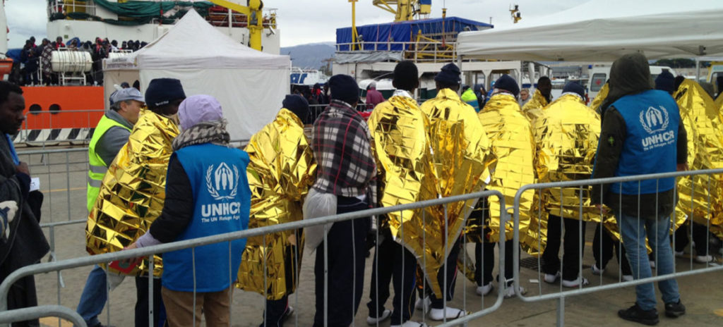 La ONU pide que se reanuden las operaciones de rescate de personas migrantes en el Mediterráneo