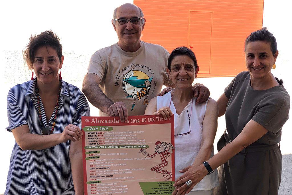 La Casa de los Títeres de Abizanda abre la temporada de verano